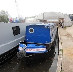 Wisp of the Water - Canal Boat Club's Latest Edition to the Fleet