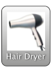 Hairdryer on board