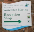 Worcester Marina in Worcestershire
